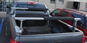 truck roof rack pads