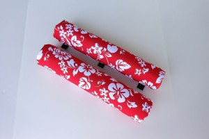 roof rack padfs 18 inch red floral