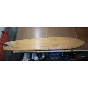 Surfboard Bag for a Velzy Balsa Surfboard fin side