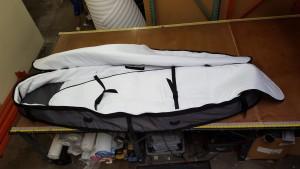 SUP Coffin Travel Bag Interior
