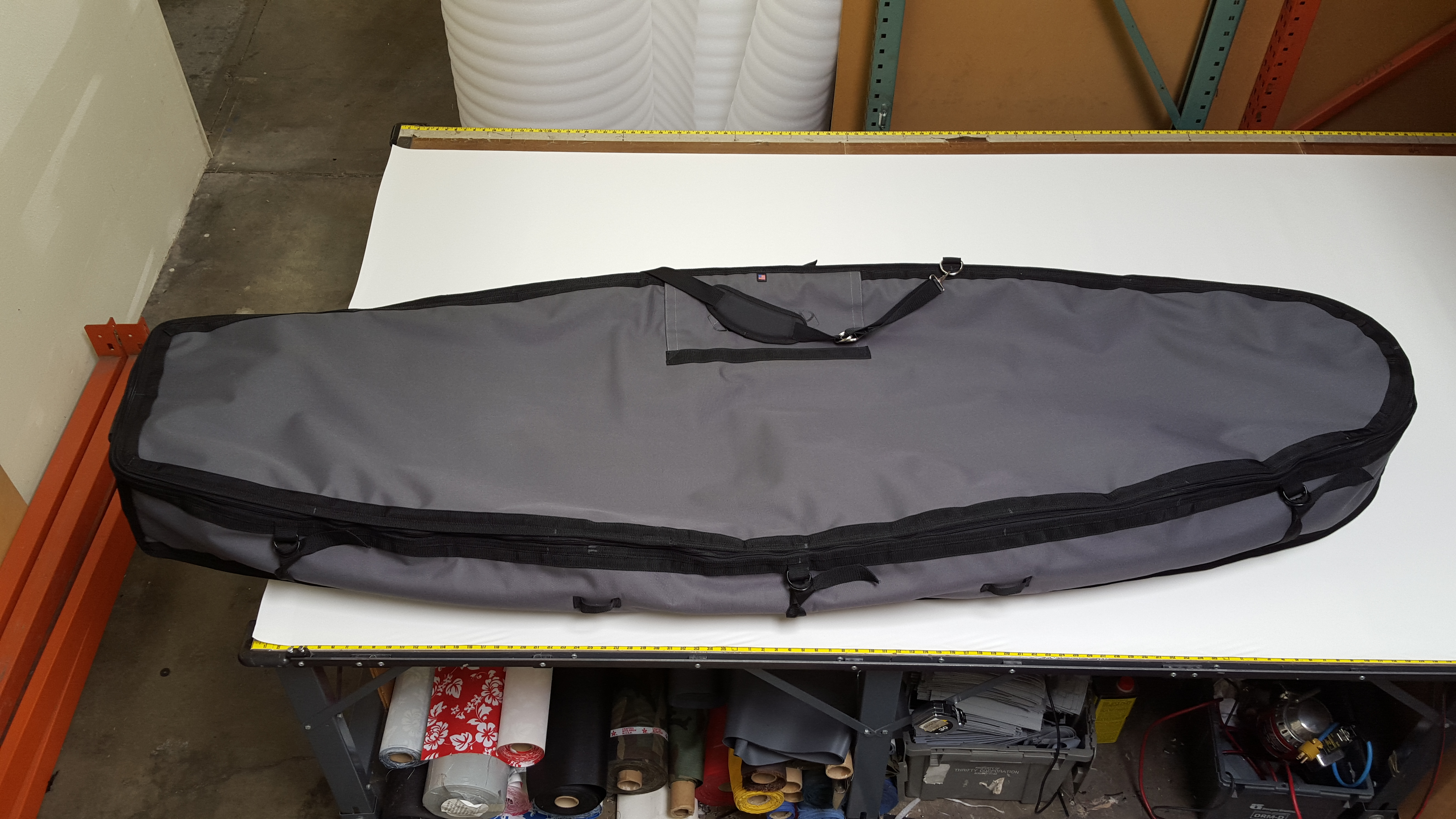 Custon Wheeled Coffin Travel Bag for SUP, Longboard & Surfboard
