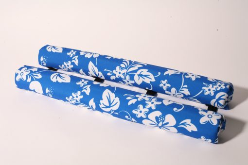 roof rack pads 27 inch blue floral