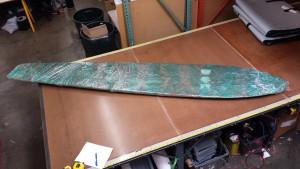 "Redwood Surfboard 10'4"" 1930"