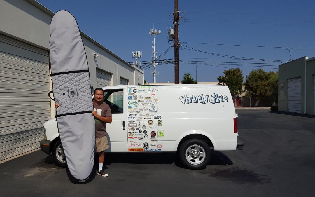 Board Bag – Vitamin Blue Made in USA