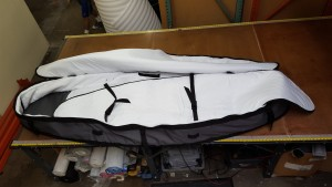SUP Coffin Travel Bag Interior