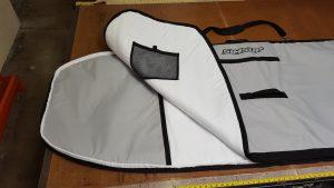 SIMSUP Travel Bag Zipper Protection Guard
